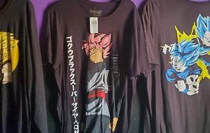 Men's Dragonball z  shirts